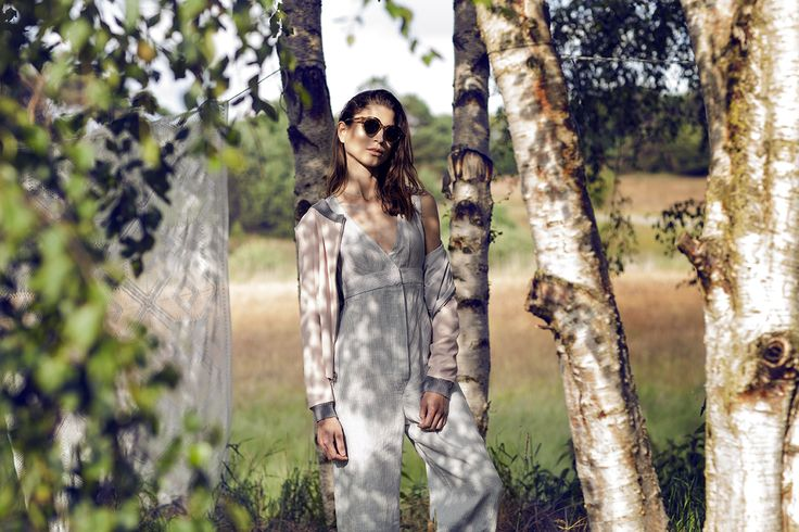 Bogelund-Jensen´s SS15 Collection. Turnable jacket and loose boiler suit