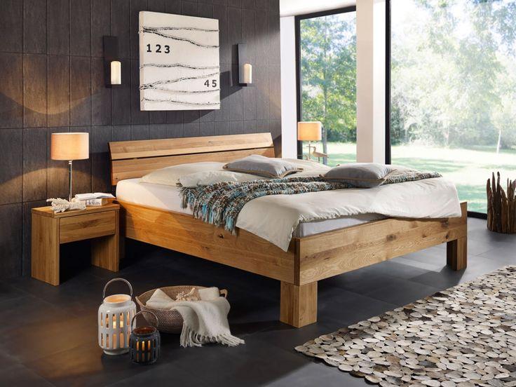 oskar ii massivholzbett 180x200 cm wildeiche | massivholzbett ... - Dream Massivholzbett Ign Design