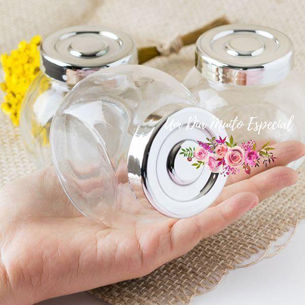 baleiro vidro lembrancinha casamento decoração loja online - Lembrancinhas e Decoração Romântica para Festas | Um Dia Muito Especial