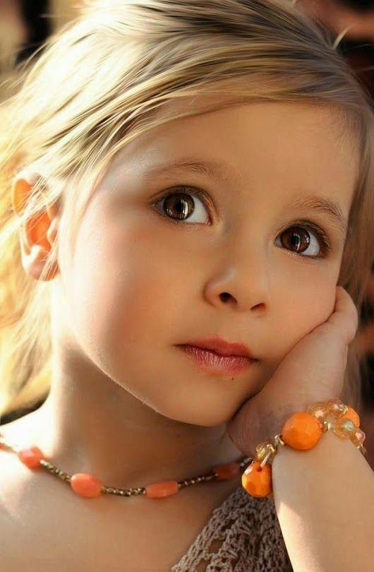 Dětské oči cesta andělů