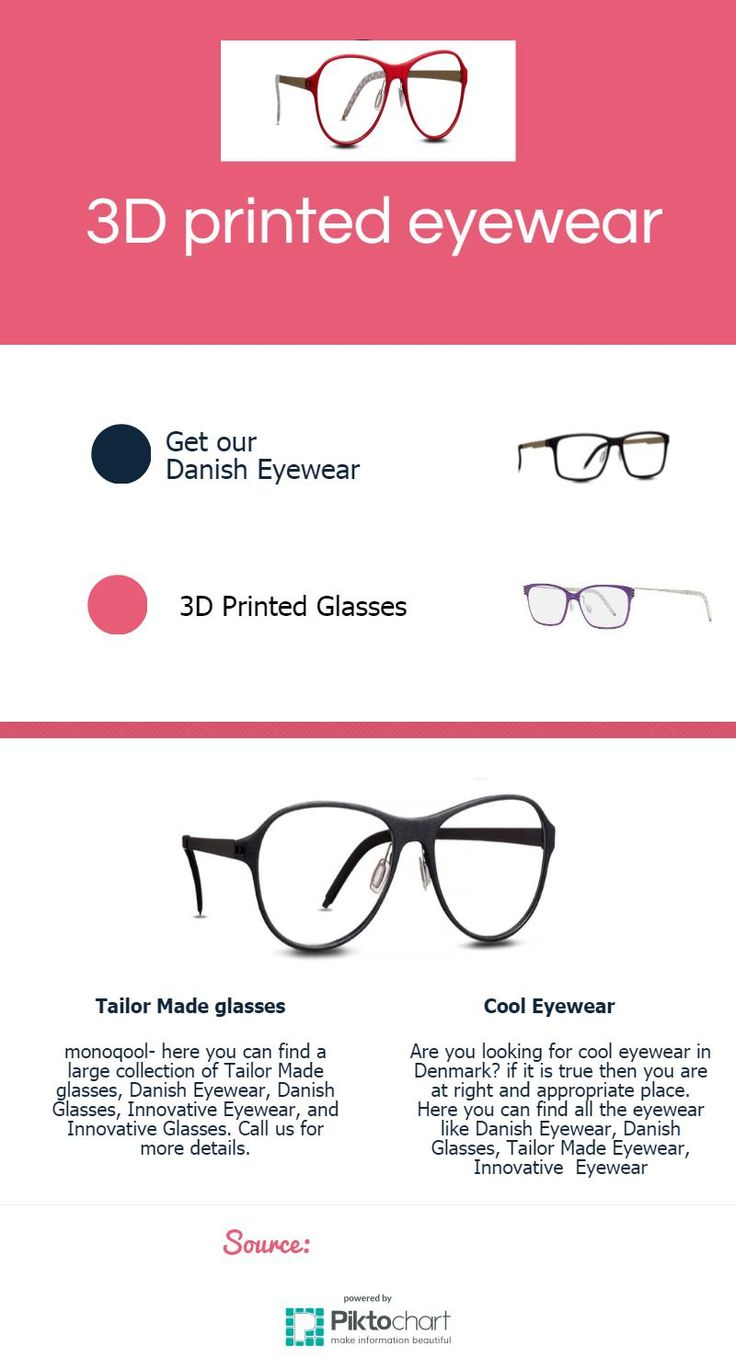 Are you looking for some attractive and unique 3d printed eyewear in Denmark? if yes then you are at right place. Kindly visit at monoqool for more details.