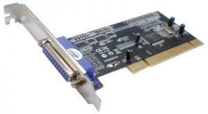 PCI I/O Controller 1 Port Parallel Card, optional low profile bracket (MCS9805CV)