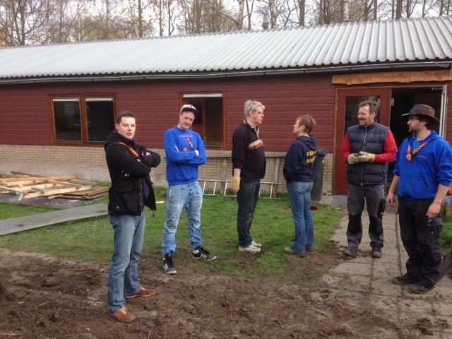 Scouting Klaas Kitten groep - Werkoverleg.