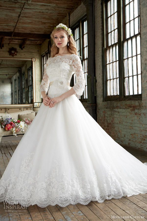 Lace top wedding dresses uk only
