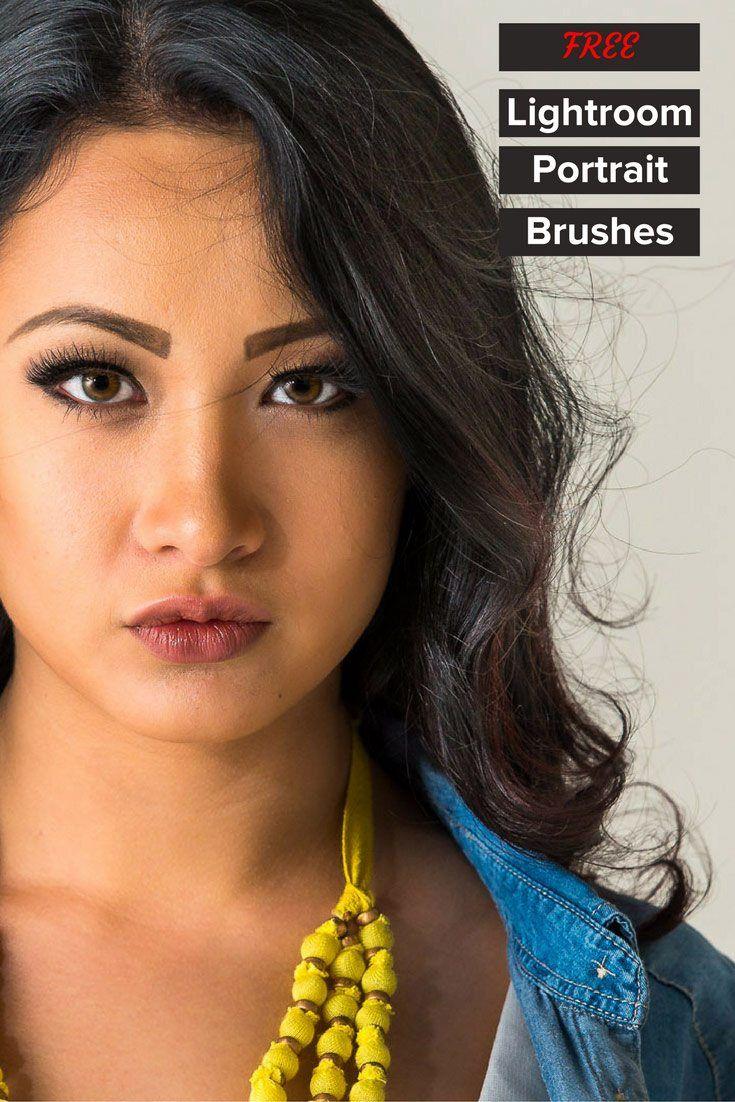 Lightroom Portrait Brushes | Lightroom Adjustment Brushes | Free Lightroom Presets | Portrait Retouching | Portrait Photography | Retouch Eyes | Smooth Skin | Whiten Teeth