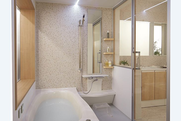 BGF5102/1616サイズ(1.0坪)   セットプラン   プラン   Oflora(オフローラ)   システムバスルーム・浴室関連商品   Panasonic