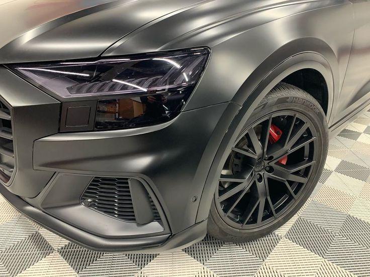 2020 Audi Q8 came in for a full wrap in Suntek Ultra matte
