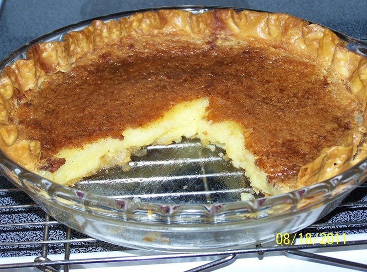 Grandma S Easy Egg Custard Pie Recipe Cin Recipe
