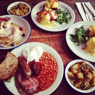 The Breakfast Club, W1 | 26 Utterly Delicious Brunch Places In London Breakfast Club, 33 D'Arblay Street  W1F 8EU, Soho, 8:00-10pm.