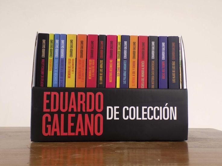 ¡Ganate la Biblioteca Eduardo Galeano completa!