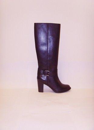 Kup mój przedmiot na #vintedpl http://www.vinted.pl/damskie-obuwie/kozaki/20503723-300-zl-przy-wymianie-nowe-metka-buffalo-kozaki-cholewa-sztywne-czarne-skora-naturalna-slupek-36