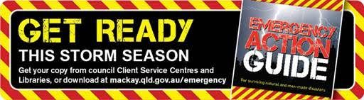 Preparing for Disaster  *Checklists *Emergency Kits *Preparing household & property *Emergency alerts / warnings *Emergency & Evacuation Plans & Zones for Mackay QLD