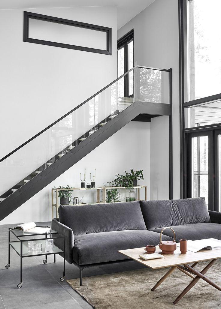 New Home With A Warm Interior   Via Coco Lapine Design Blog