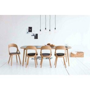 Colibri stol ek sits gråmelerad