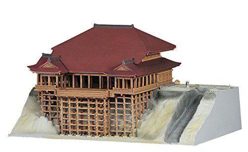 Fujimi Model 1/400 Kiyomizu Temple Japanese figure promo #Fujimi