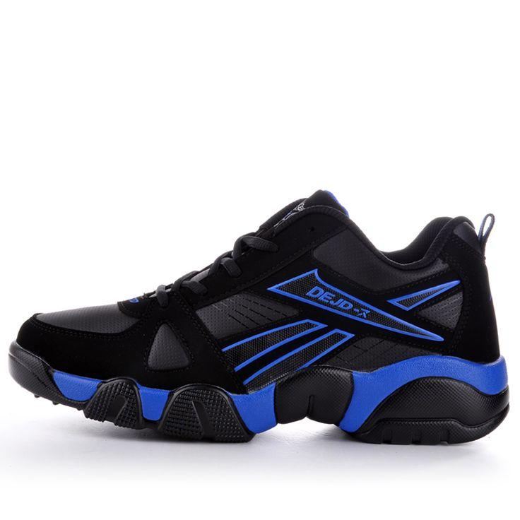 2016 Nuevos hombres de las Zapatillas de deporte Rojo Y Negro Tejer Transpirable Corriendo Botas Al Aire Libre Zapatos Cómodos Para Correr