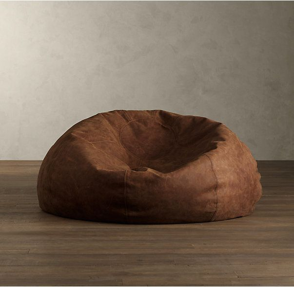 Grand Leather Bean Bag