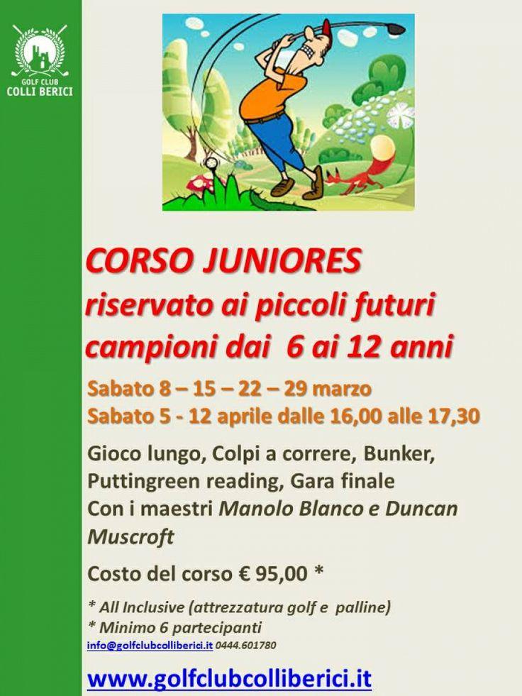 CORSO JUNIORES DI PRIMAVERA - Golf Club Colli Berici - Vicenza, Veneto, Italy