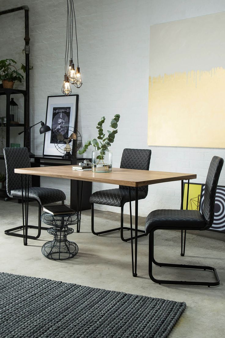 Bronx 150cm Oak Dining Table