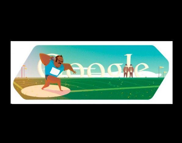 Lanzamiento de peso #doodle #JuegosOlimpicos #OlympicGames
