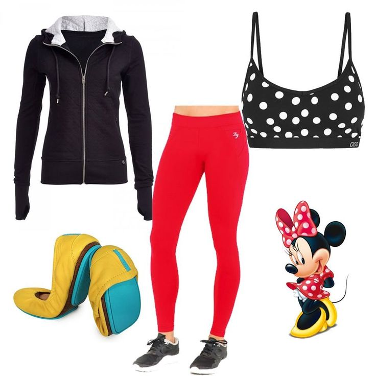 What To Wear In Disney: Minnie Mouse inspired outfit. #cosplay #minniemouse #lornajane #waltdisneyworld #disneyland
