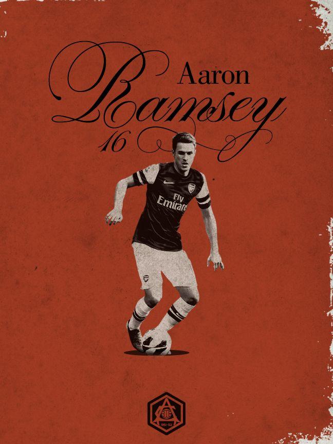 ARSENAL FC Aaron Ramsey
