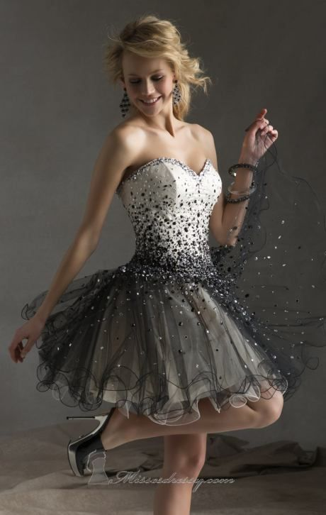 Mori Lee 9233 by Sticks and Stones by Mori Lee