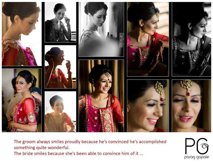 Bridal Shoots, Behind the Scenes, Making of the Bride, Bridal Make-up, Beautiful bride..:) http://www.facebook.com/ParagGopalePhotography