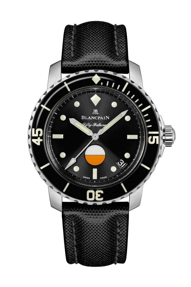 Blancpain Fifty Fathoms Tribute to MIL-SPEC - TownandCountrymag.com