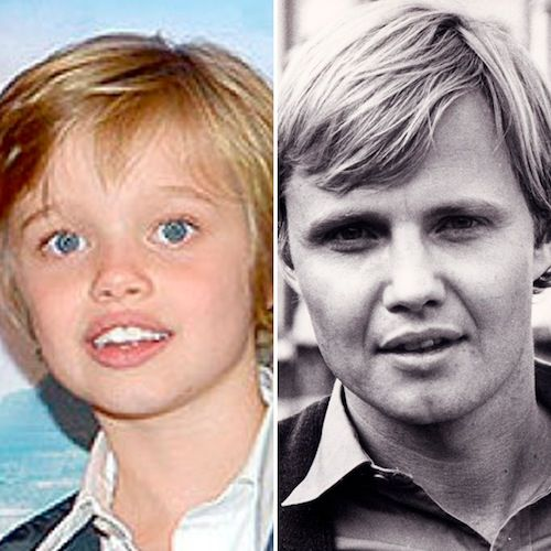 Brad Pitt and Angelina Jolie's Daughter Shiloh, 4, Looks Exactly Like Grandpa Jon Voight | Life & Style