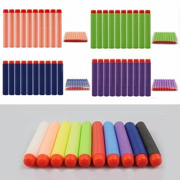 100PCS Refill Green Bullets Dart For Nerf N-strike Elite Rampage Retaliator Series Blasters Sale - Banggood.com