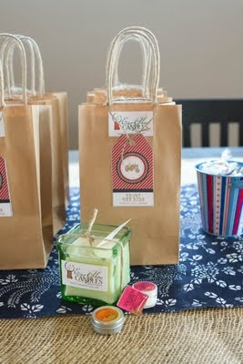 Tractor Party: Party Favors, Favor Bags, Gift Bags, Goodie Bags, Bday Party, Party Ideas, Birthday Party