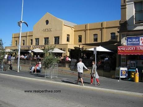 The Monk Brewery in South Terrace Fremantle.