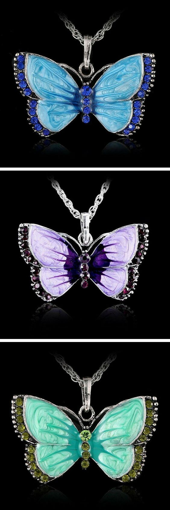Love Butterflies? Then this is Butterfly necklace is for you. Get yours now at 50% off! Today only!