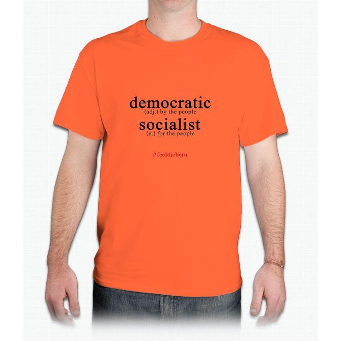 Democratic Socialist Bernie Sanders - Mens T-Shirt