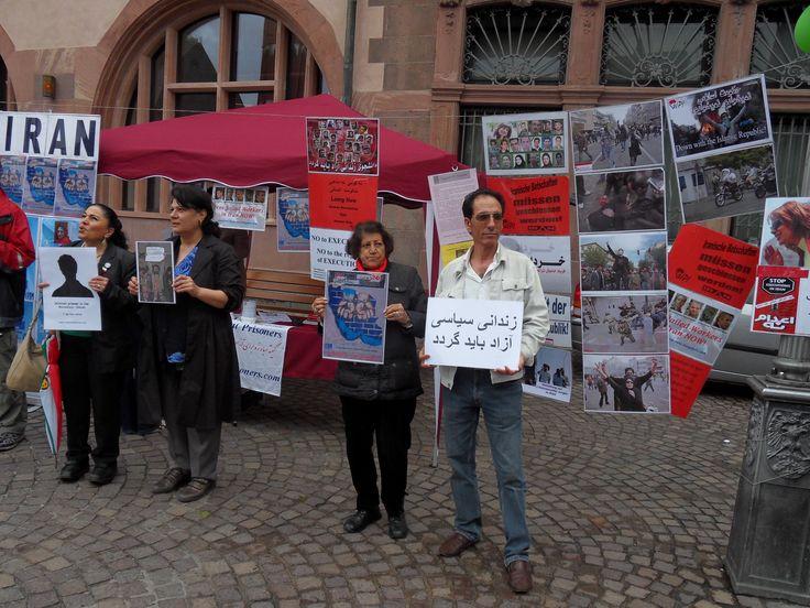 تظاهرات آلمان ؛ فرانکفورت