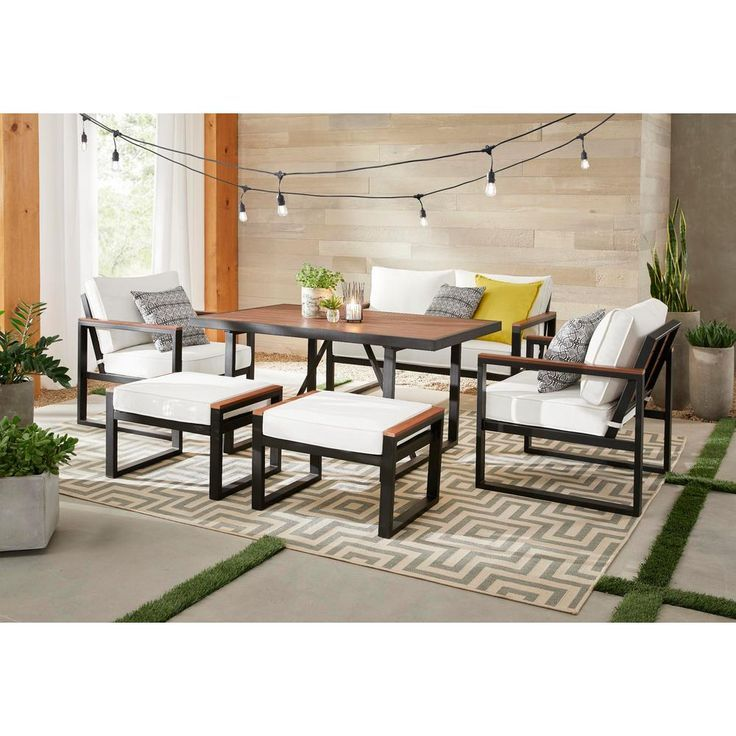 16++ White wood patio dining set Tips