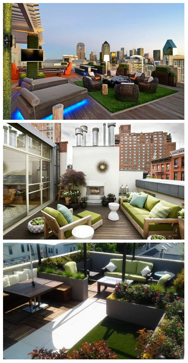 15 Modern and Contemporary Rooftop Terrace Designs     Having a place where you could rest and take a good look at the surroundings would certainly be a great thing. That is why having an outdoor place to stay is ideal. It could be a seating area under a pergola, a gazebo, a mere bench in the...