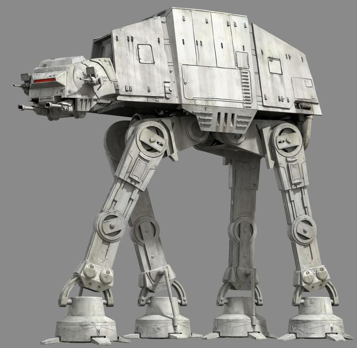 The All Terrain Armored Transport (AT-AT) walker, also known as the Imperial Walker, was a major part of the Galactic Empire's motor-pool. It was one of the most heavily armored land vehicles in the Imperial Army, but was also known for its relatively slow speed. The AT-AT walker was a behemoth of a war machine, standing at a height of 22.5 meters. The quadrupedal walker closely resembled ancient beasts of war, or even a giant legendary beast from the dark side of the Force. Designed for…