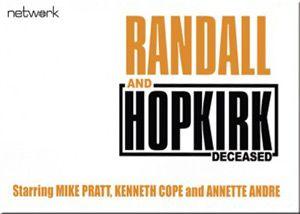Randall and Hopkirk Arrives on Blu-ray - Blu-ray News