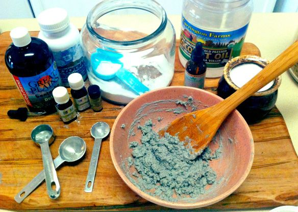 Remineralizing Toothpaste - Reverse Cavities!! 4 T. baking soda 2 T. Coconut Oil(virgin, expeller pressed, unrefined, organic) 1 tsp. fine salt (unrefined Sea Salt or Himalayan Salt) 2 T. cal/mag powder plus trace minerals (or cal/mag powder and 10 trace minerals drops) 2 T. Xylitol 20 drops or to taste. - Liquid/Powdered Stevia 20 drops peppermint eo