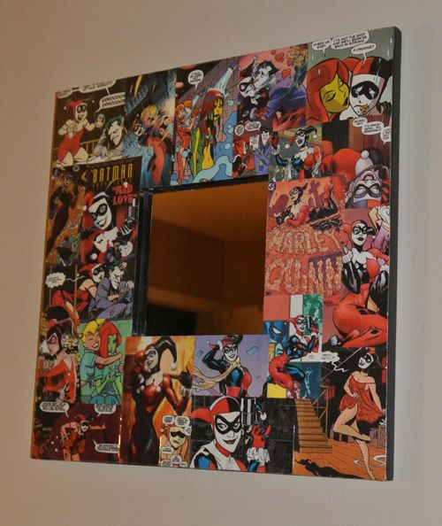 421 best harley quinn images on pinterest for Harley quinn bedroom designs