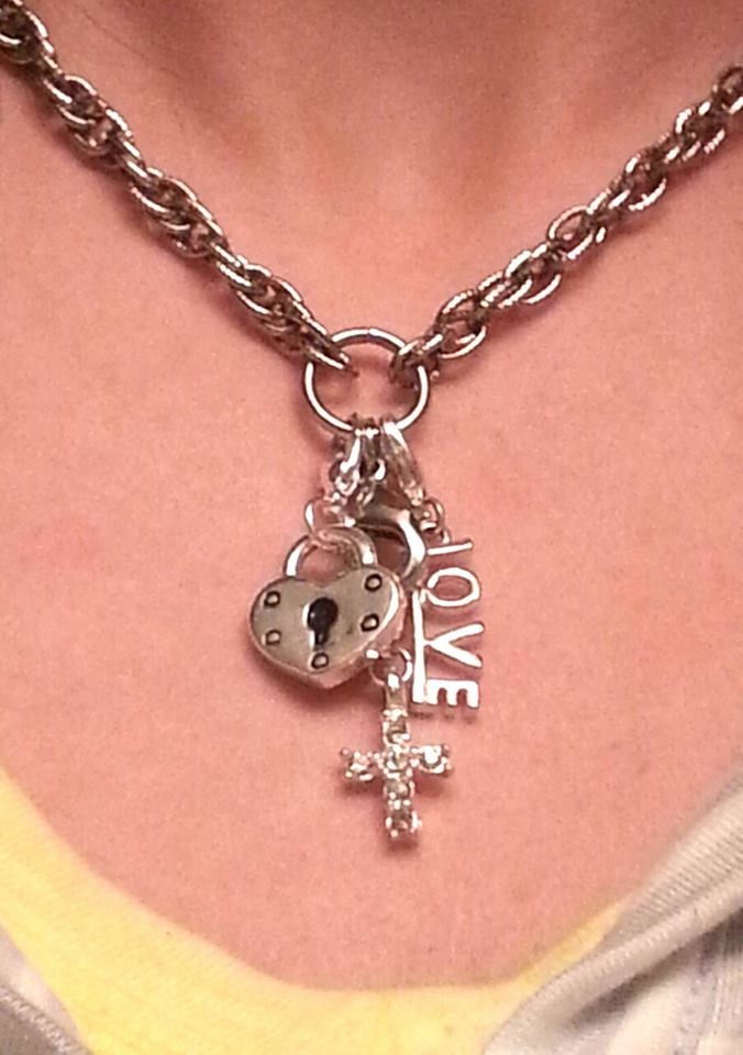 Make your very own personalized charm necklace! :) Shop online at www.southhilldesigns.com/melanie