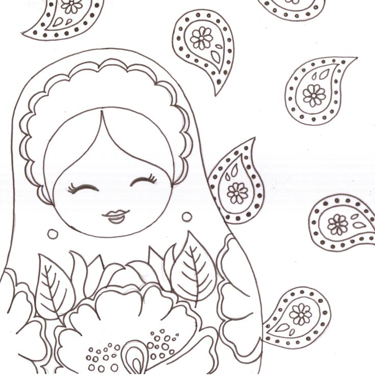 97 best matriochkas images on Pinterest Matryoshka doll, World - dessiner plan maison gratuit