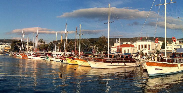 Bodrum - home of the rich and famous in Turkey