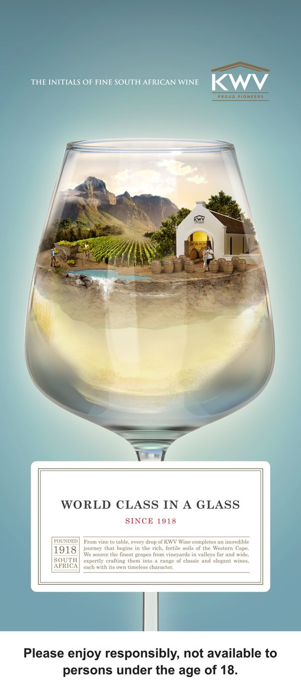 KWV World class in a glass on Behance