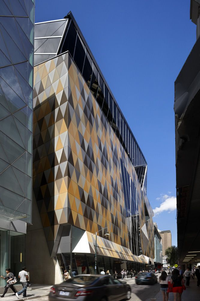 Myer's in Bourke Street, Melbourne, NH Architecture