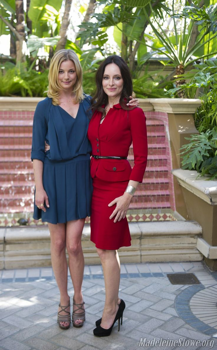 Emily Vancamp and Madeleine Stowe