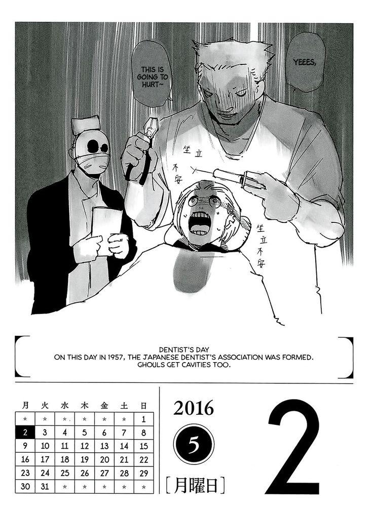 Tokyo Ghoul 366 Days Calendar 2016 - May - Album on Imgur