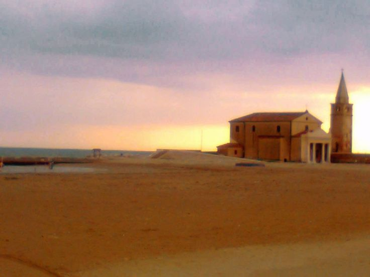 #church Madonna dell'Angelo. #caorle #beach #italy